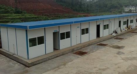 彩钢板活动房(单坡式)_上海彬煌钢结构有限公司
