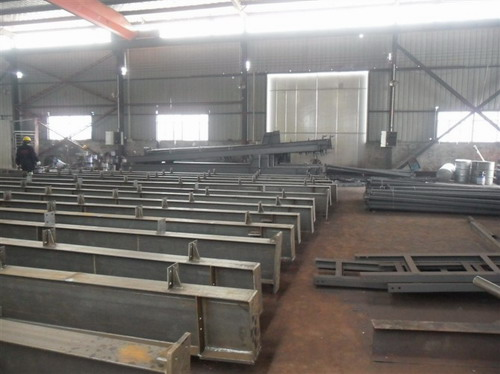 彬煌钢结构公司同时也对外承接钢结构加工项目