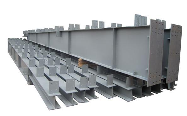 钢结构建筑在组装前都要经过钢构件加工→钢结构制作→钢结构安装 彬