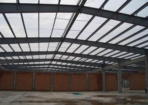 上海浦东某公司屋盖钢结构工程施工图